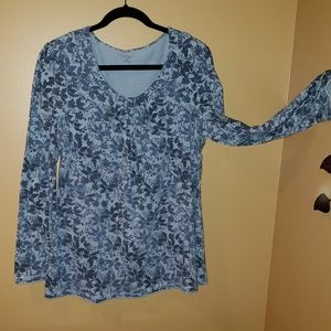Sonoma XL floral long sleeve top